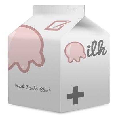 Milk App Icon